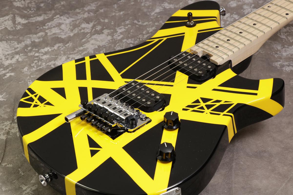 EVH / Wolfgang Special Maple Fingerboard Black and Yellow 【S/N WG167001M】 【池袋店