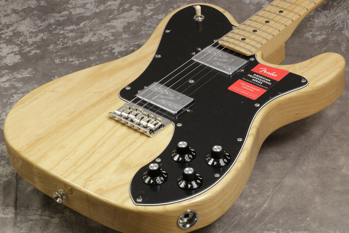 Fender / American Pro Telecaster Deluxe Ash Shawbucker Natural Maple 【S/N US17032712】【池袋店】