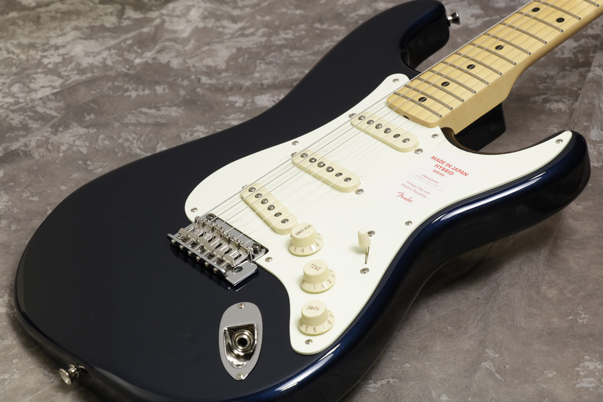 Fender / Made in Japan Hybrid Stratocaster Limited Run Midnight Blue 【S/N JD18006408】【池袋店】