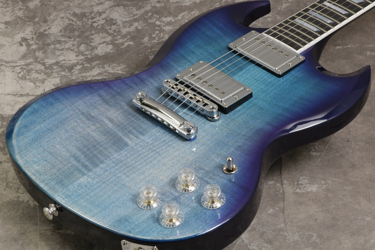 Gibson USA / SG High Performance 2019 Blueberry Fade/Blueberry Burst 【S/N 190013338】【池袋店】