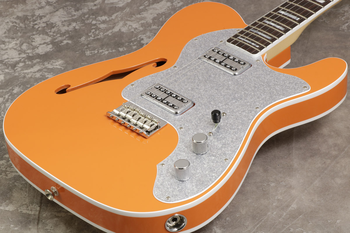 Fender USA / Parallel Universe Limited Edition Telecaster Thinline Super Deluxe Orange【S/N US18029847】【池袋店】
