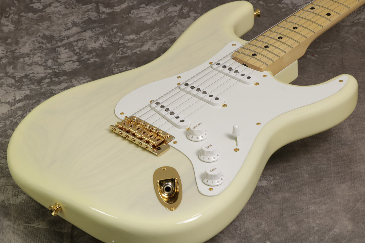 Fender / Made in Japan 2018 Limited Collection 50s Stratocaster Lacquer White Blonde 【S/N JD18010138】【池袋店】