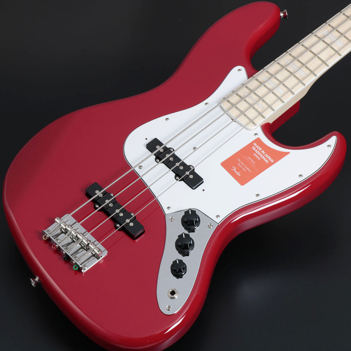 Fender / Made in Japan Traditional 70s Jazz Bass Torino Red / Maple Fingerboard 【展示アウトレット特価品】【展示アウトレット】【横浜店】