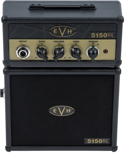 EVH / 5150 III Micro Stack, Black and Gold マイクロスタック 電池駆動ギターミニアンプ 【福岡パルコ店】