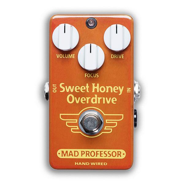 MAD Professor / Sweet Honey Overdrive Hand Wired 【エフェクター】【マッドプロフェッサー】【スイートハニーオーバードライブ/スィートハニーオーバードライブ】【ハンドワイアード】【福岡パルコ店】