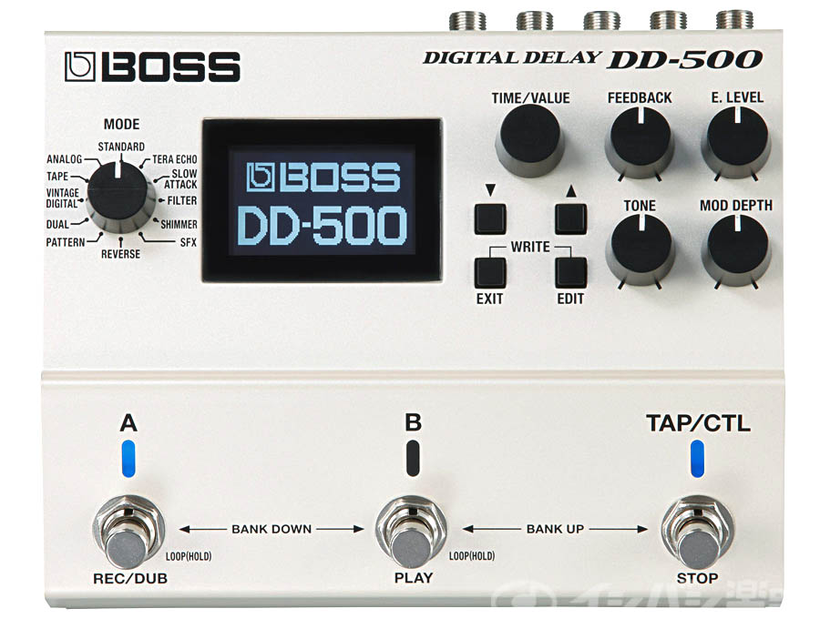 すべてを究めたディレイ ペダル BOSS DD-500 Digital Delay ☆正規品新品未使用品 低価格化 福岡パルコ店