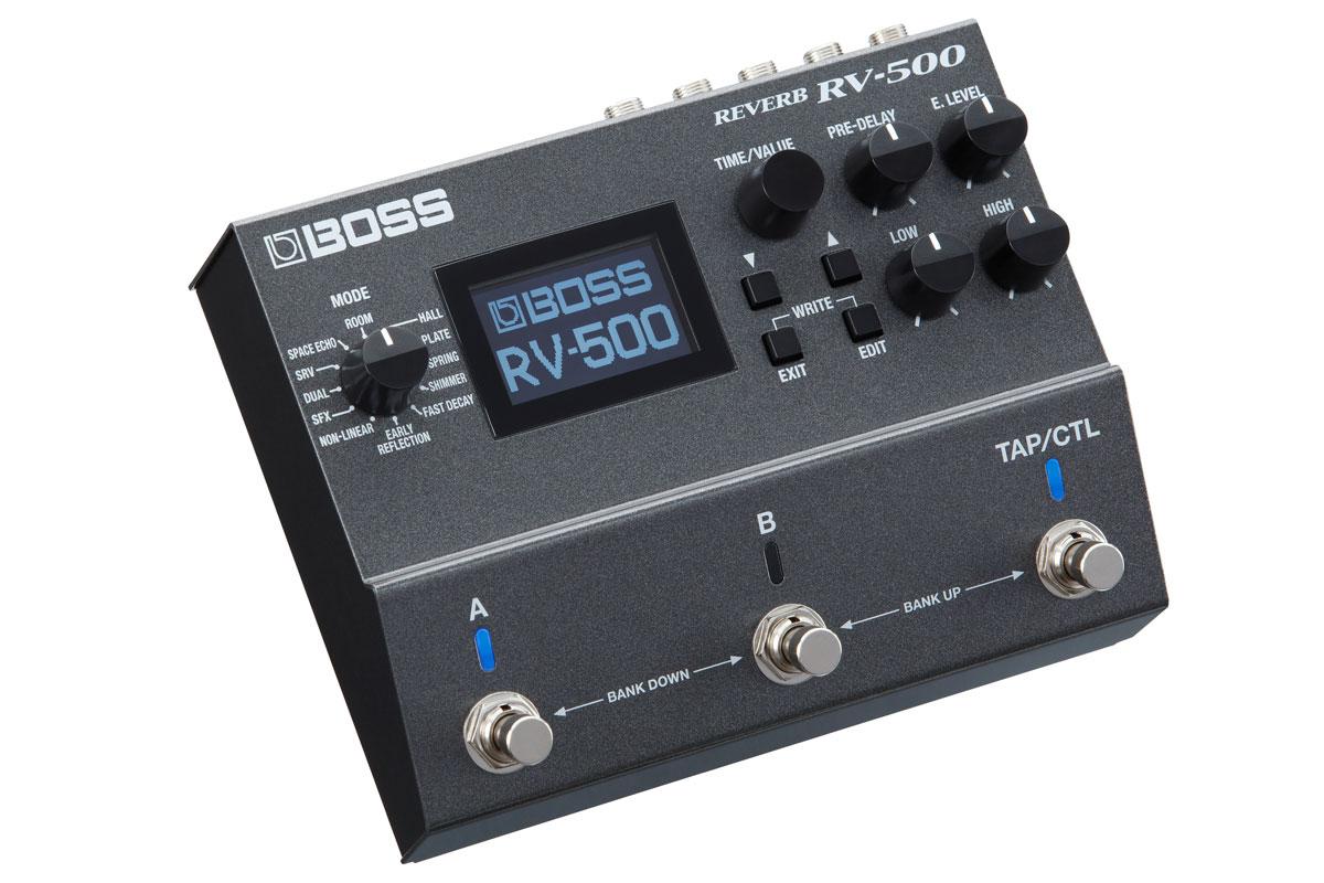 プレゼント 求めるものすべてが凝縮された究極のリバーブ ペダル BOSS Reverb マーケティング RV-500 福岡パルコ店