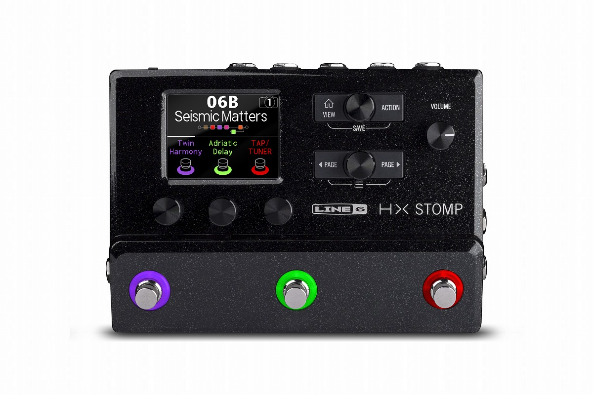 LINE6 / HX STOMP コンパクト プロフェッショナル ギタープロセッサー エフェクター【名古屋栄店】