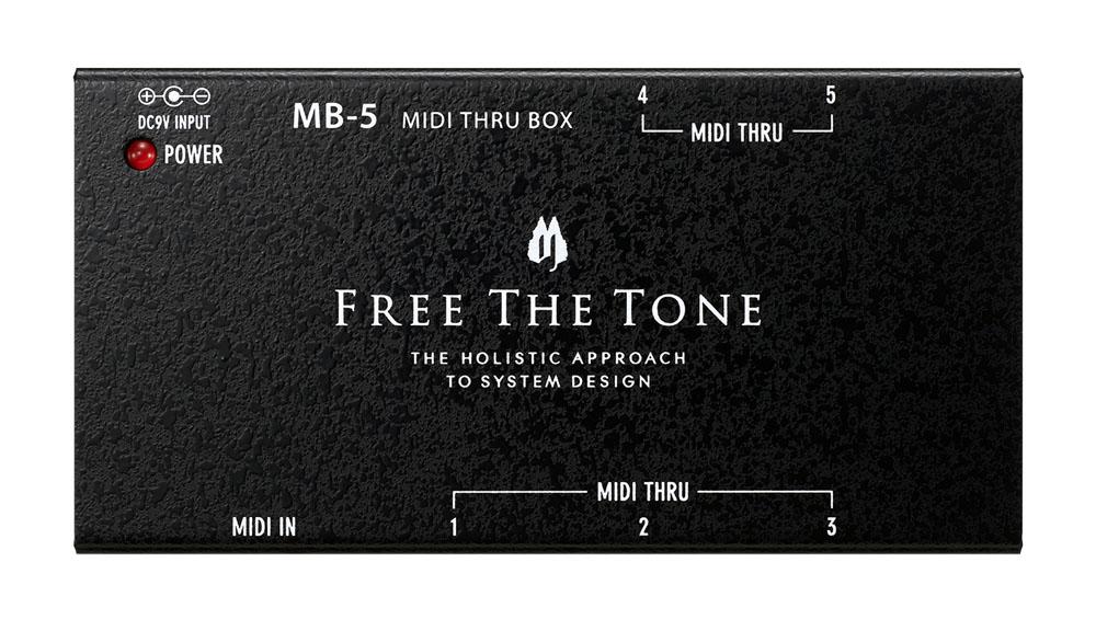 FREE THE TONE / MB-5 MIDIスルーボックス 《予約注文/7月26日発売予定》【新宿店】