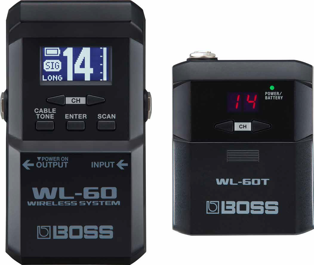 BOSS / WL-60 ギターワイヤレスシステム【名古屋栄店】
