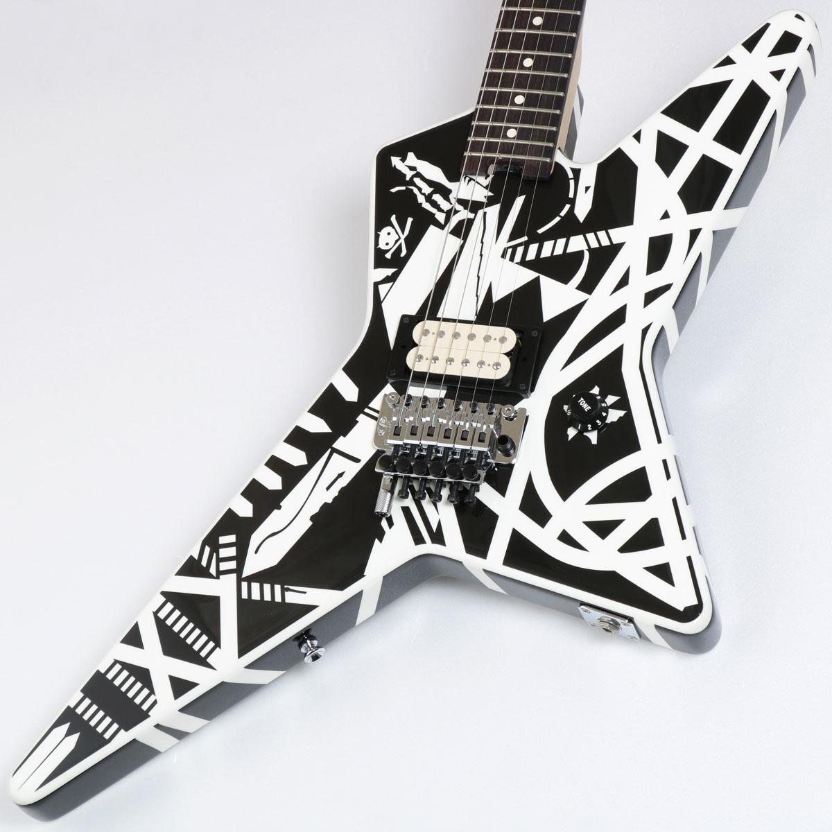 EVH / Striped Series Star Black and White Stripe イーブイエイチ【御茶ノ水本店】