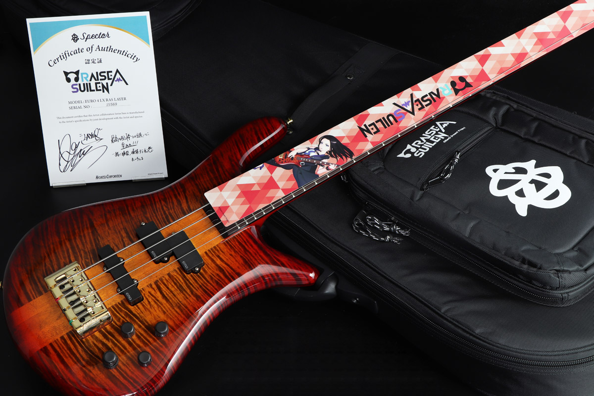 Spector / LAYER MODEL Euro 4 LX RAS LAYER Twilight Amber 《S/N:NB15569》 【心斎橋店】