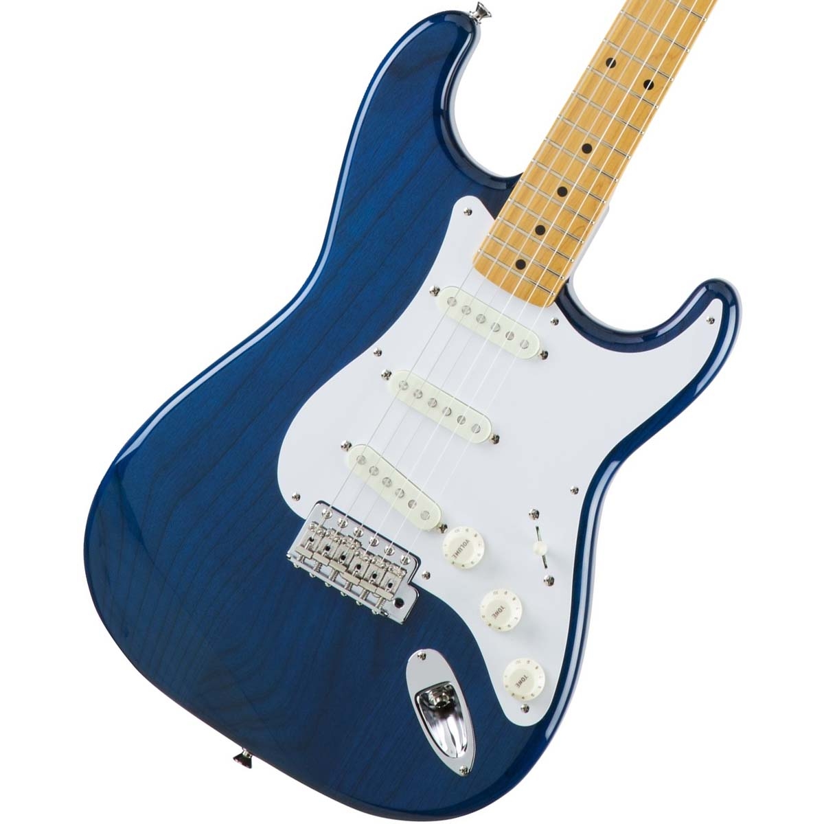 Fender / Made in Japan Traditional 58 Stratocaster Maple Fingerboard Sapphire Blue Trans【池袋店】