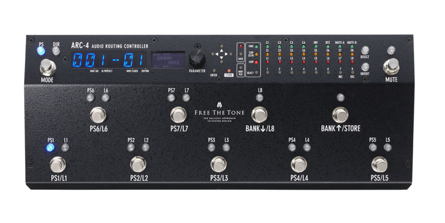 Free The Tone / ARC-4 Audio Routing Controller 《即納可能!》【新宿店】
