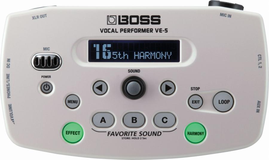 BOSS / VE-5 Vocal Performer WH 【福岡パルコ店】