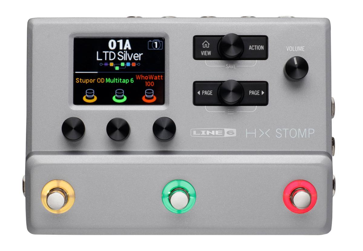 LINE6 / HX STOMP Silver 限定カラー コンパクト プロフェッショナル ギタープロセッサー エフェクター【新宿店】