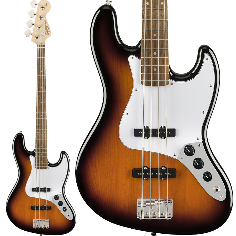 Squier by Fender / Affinity Series Jazz Bass Laurel Fingerboard Brown Sunburst 【新宿店】