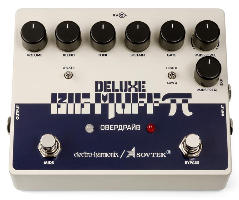 Electro Harmonix / Sovtek Deluxe Big Muff Pi Distortion/Sustainer 【福岡パルコ店】
