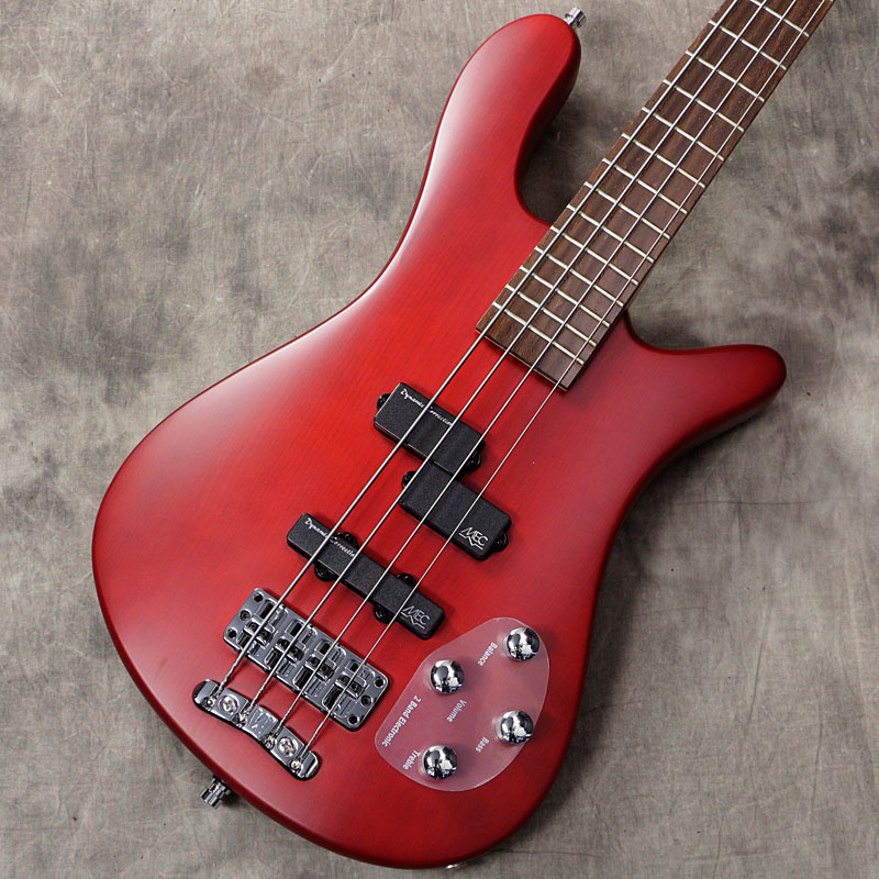 Warwick / Rockbass Series Streamer LX 4st Burgundy Red Transparent Satin【アウトレット特価】【新宿店】