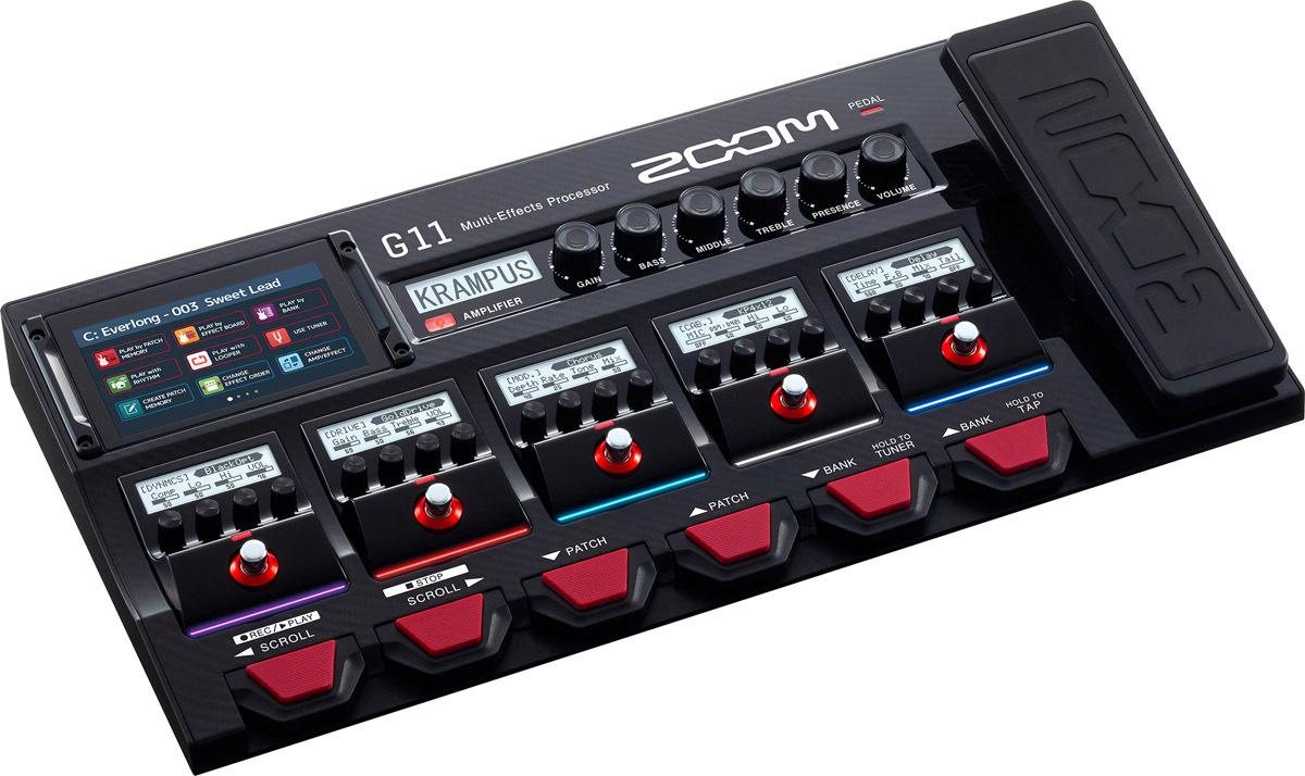 ZOOM G11 ズーム ギター用マルチエフェクツ・プロセッサー 【新宿店】