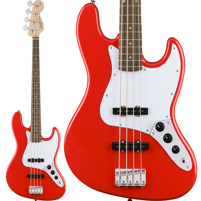 Squier by Fender / Affinity Jazz Bass Race Red Laurel Fingerboard【御茶ノ水本店】