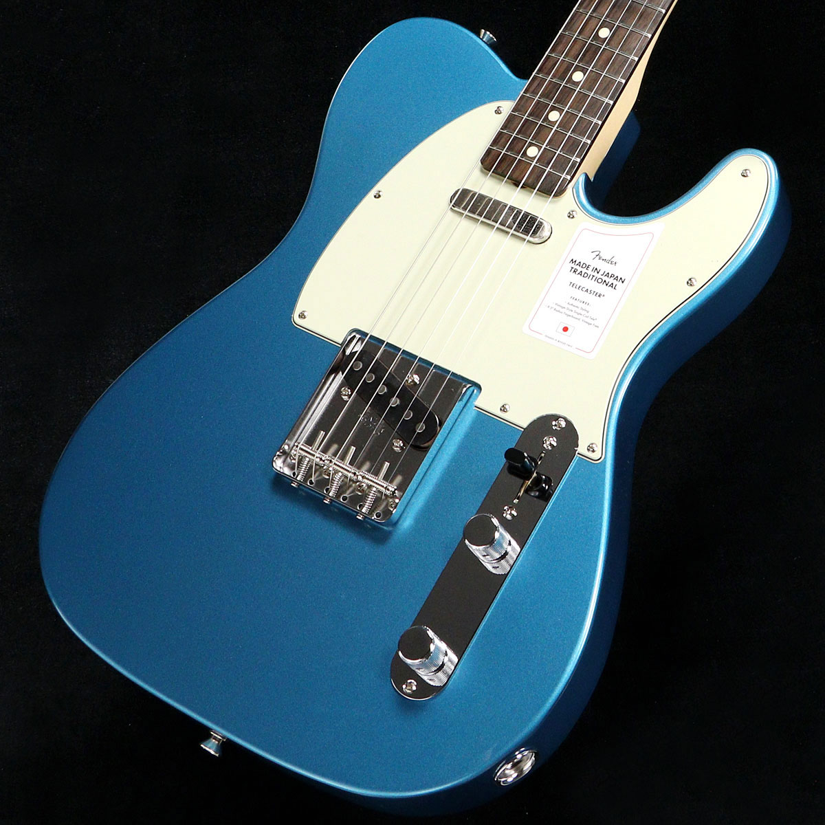 Fender / Made in Japan Traditional 60s Telecaster Rosewood Fingerboard Lake Placid Blue フェンダー【2020 NEW MODEL】【渋谷店】