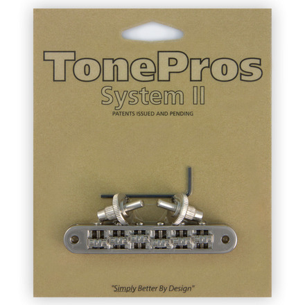 """TONE PROS / TP6R-N Standard Tuneomatic (small posts, """"Roller"""" saddles) 《お取り寄せ商品》【御茶ノ水本店】"""