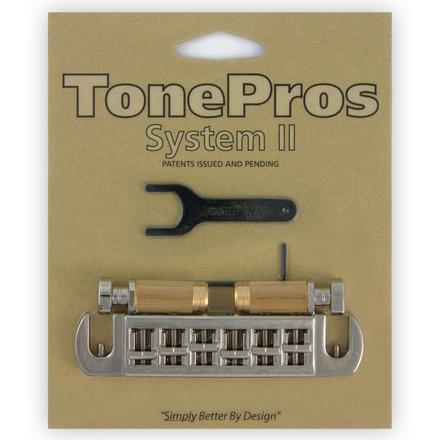TONE PROS / AVT2G-N Wraparound Set w/SS1 Locking Studs for Gibson 《お取り寄せ商品》【御茶ノ水本店】