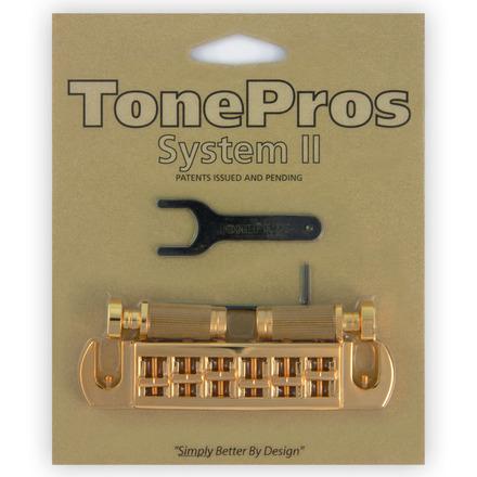 TONE PROS / AVT2G-G Wraparound Set w/SS1 Locking Studs for Gibson 《お取り寄せ商品》【御茶ノ水本店】