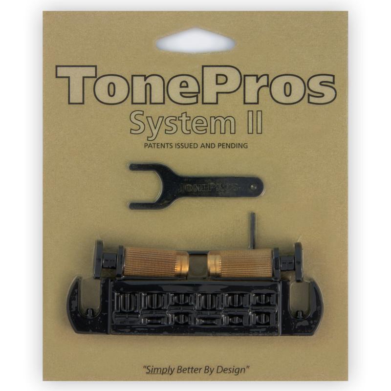 TONE PROS / AVT2P-B Wraparound Set w/SPRS2 Locking Studs for PRS 《お取り寄せ商品》【御茶ノ水本店】