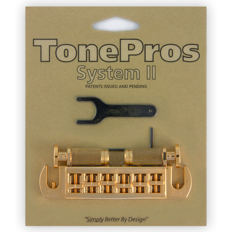 TONE PROS / AVT2P-G Wraparound Set w/SPRS2 Locking Studs for PRS 《お取り寄せ商品》【御茶ノ水本店】