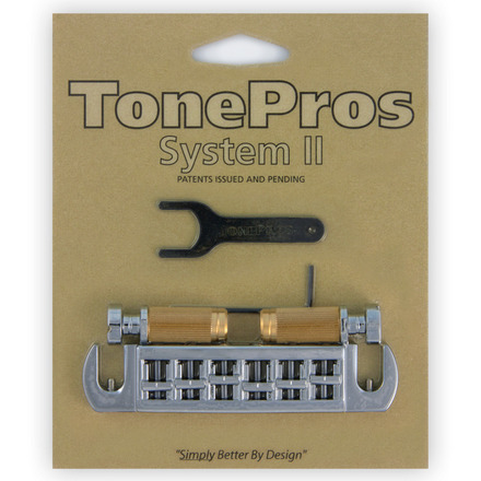 TONE PROS / AVT2G-C Wraparound Set w/SS1 Locking Studs for Gibson 《お取り寄せ商品》【御茶ノ水本店】
