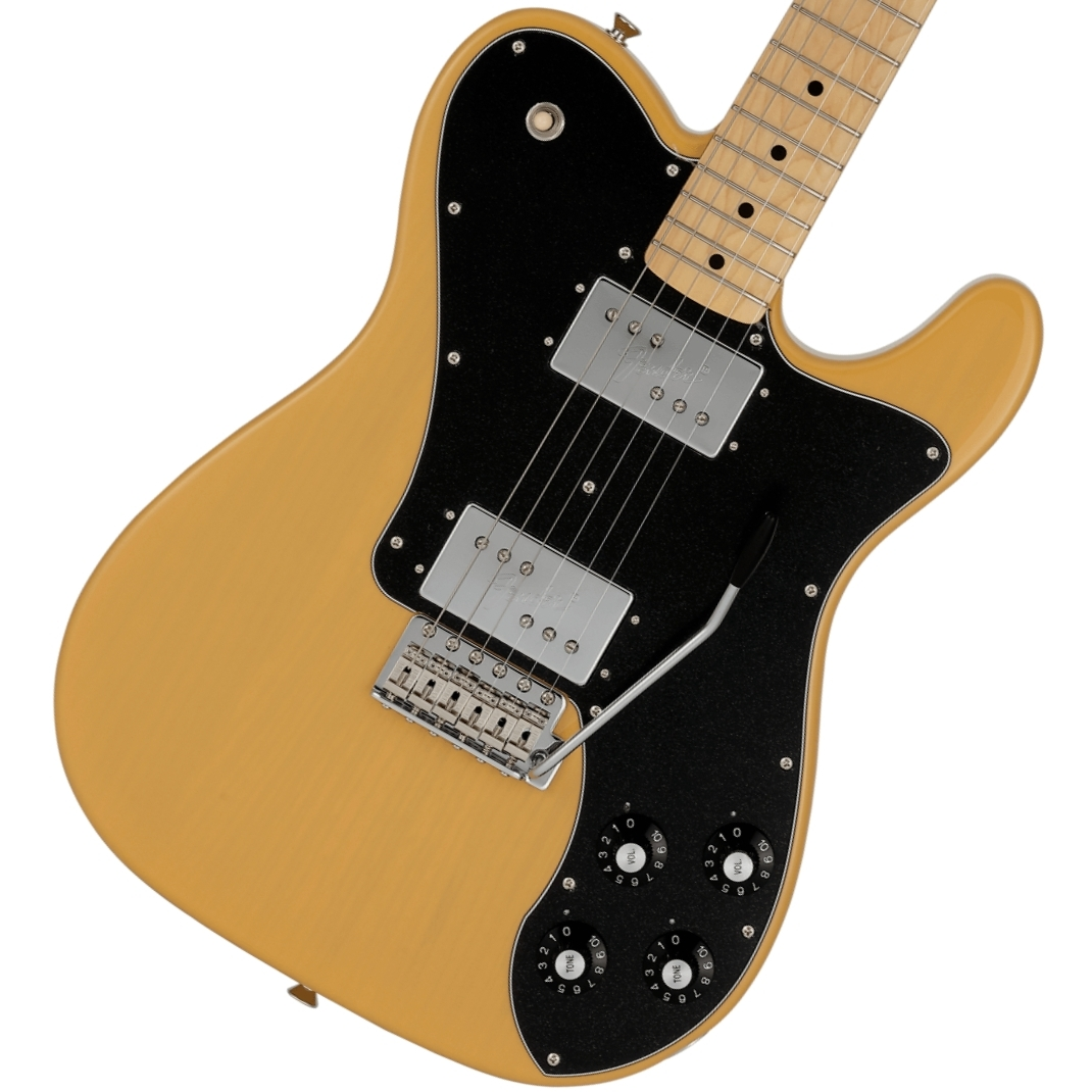 Fender / Made in Japan Limited 70s Telecaster Deluxe with Tremolo Maple Fingerboard Butterscotch Blonde フェンダー【御茶ノ水本店】