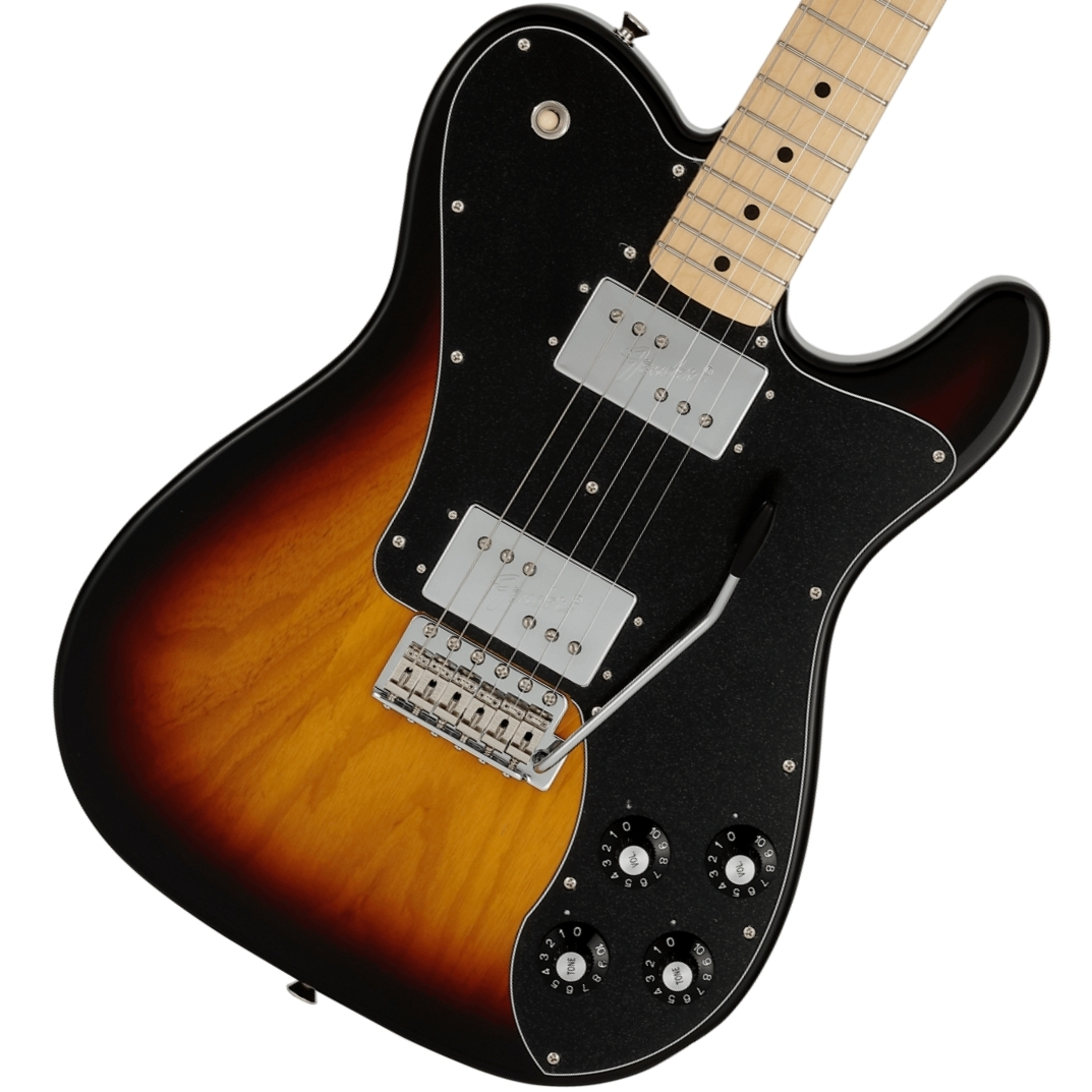 Fender / Made in Japan Limited 70s Telecaster Deluxe with Tremolo Maple Fingerboard 3-Color Sunburst フェンダー【御茶ノ水本店】