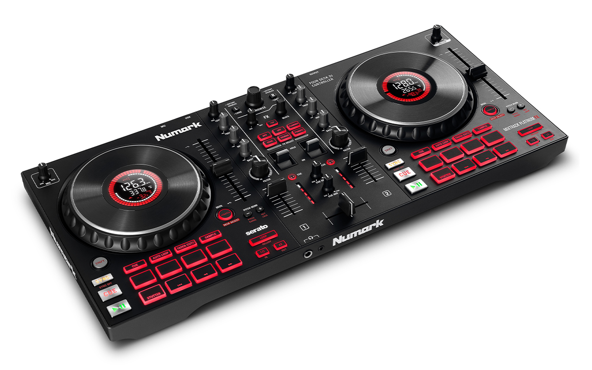Numark / Mixtrack Platinum FX DJコントローラー【お取り寄せ商品】【渋谷店】