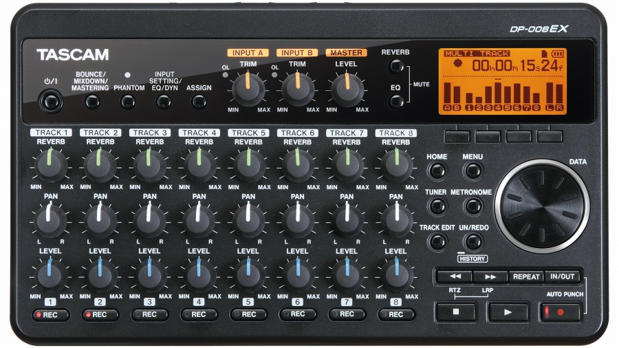 TASCAM/DP-008EX【8Trのシンプル簡単MTR】【電池駆動可能】【福岡パルコ店】
