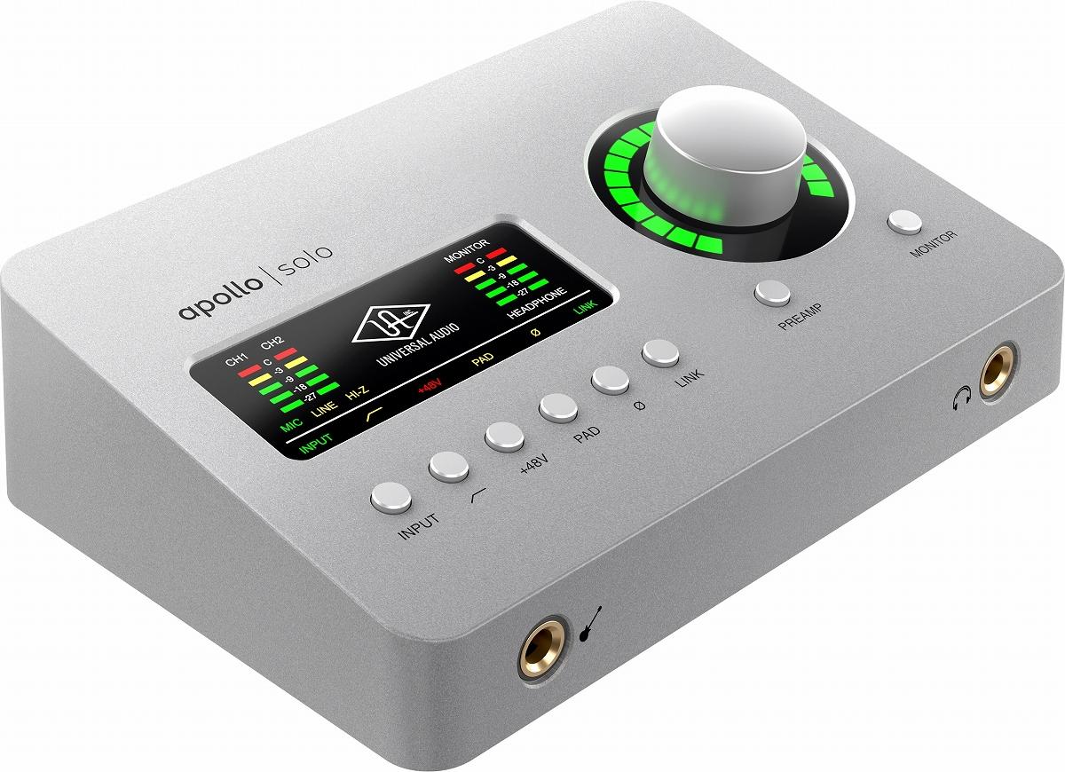 Universal Audio ユニバーサルオーディオ Apollo Solo USB オーディオ Windows専用 半額 USB3.0 インターフェース《動画》 渋谷店 送料無料激安祭