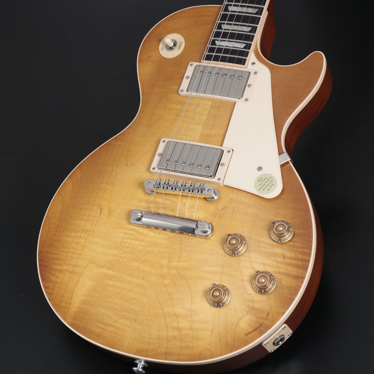 往年の仕様をベースにサテン仕上げを施した2019年スタンダード Gibson USA / Les Paul Standard 2019 Faded Satin Honeyburst 50s Plain Top 【チョイキズ特価品】【S/N 190039514】【OCZBG】【御茶ノ水本店】