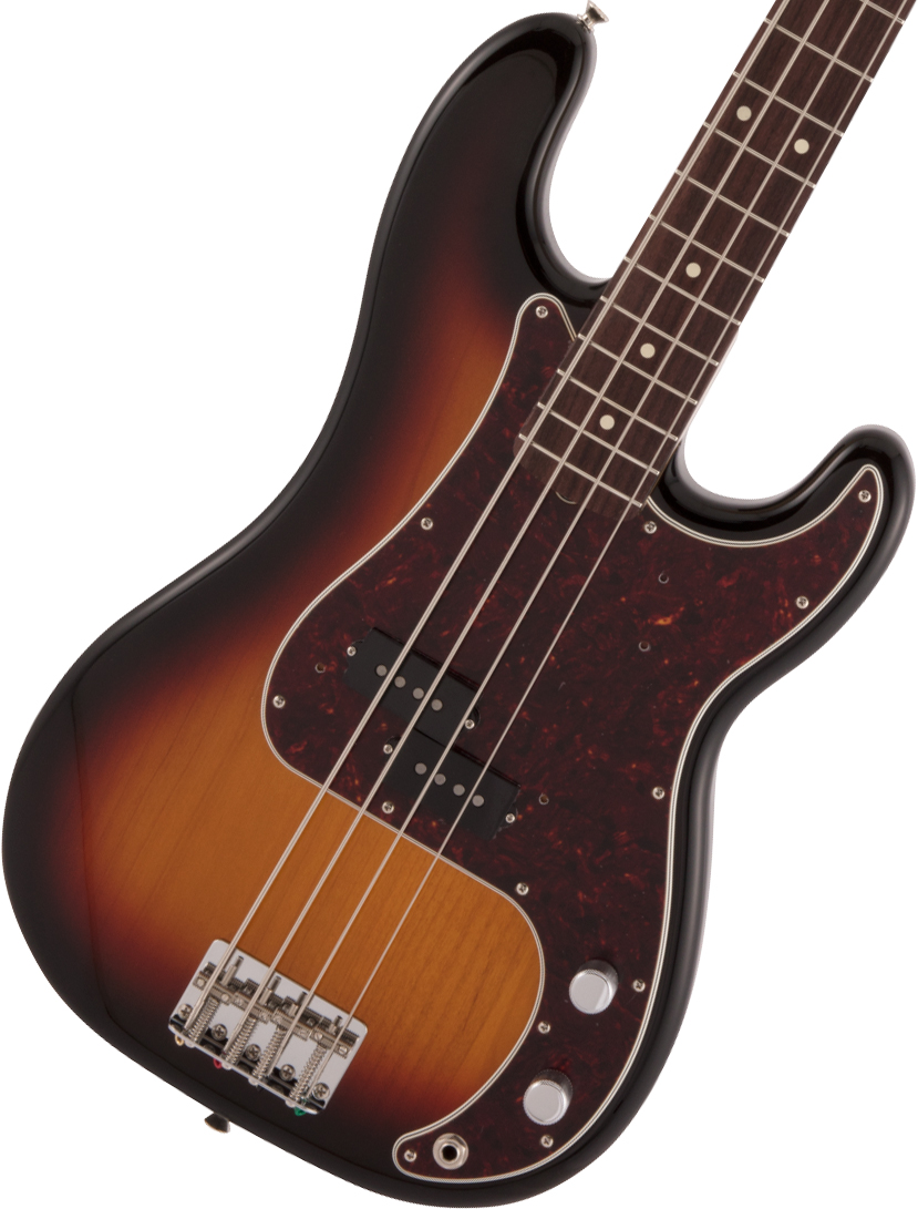 Fender / Made in Japan Heritage 60s Precision Bass Rosewood Fingerboard 3-Color Sunburst 【2020 NEW MODEL】【御茶ノ水本店】