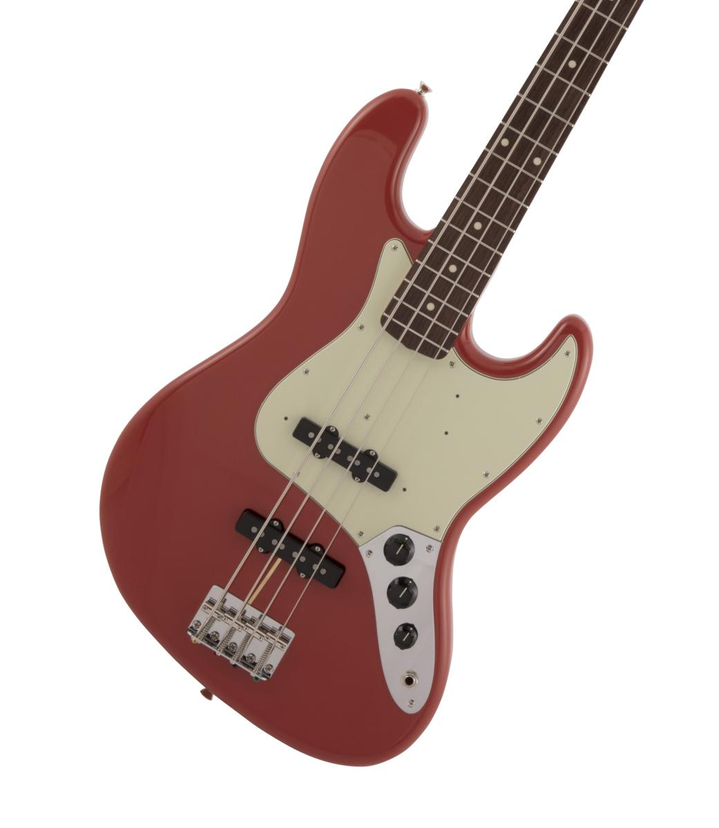 Fender / Made in Japan Traditional 60s Jazz Bass Rosewood Fingerboard Fiesta Red フェンダー【御茶ノ水本店】