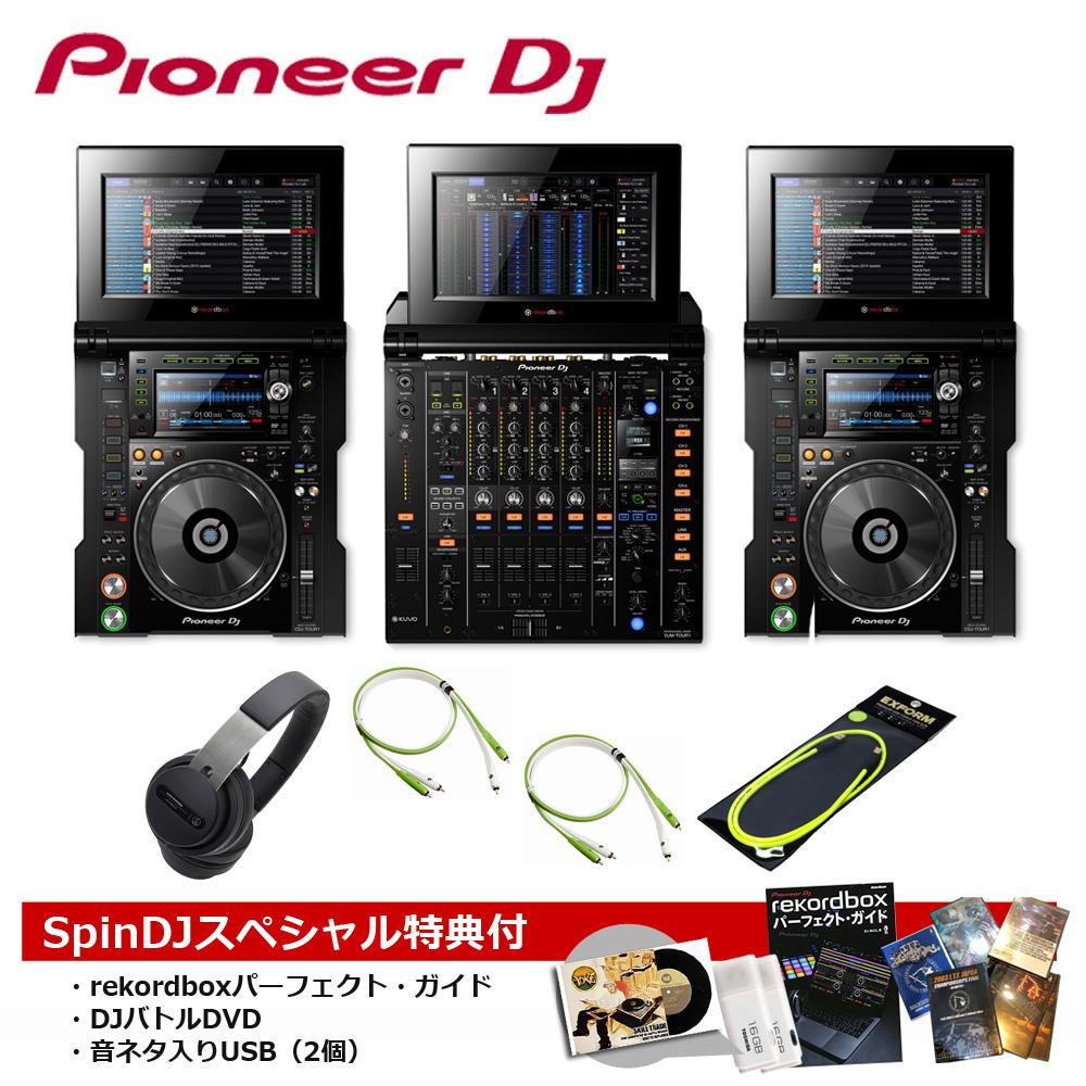 Pioneer DJ / CDJ-TOUR1 × DJM-TOUR1 プロフェッショナルDJセット【豪華3大特典付き!】【お取り寄せ商品】【渋谷店】