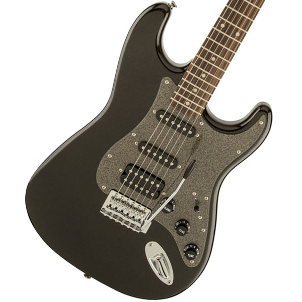 Squier by Fender / Affinity Stratocaster HSS Montego Black Metallic Indian Laurel【御茶ノ水本店】