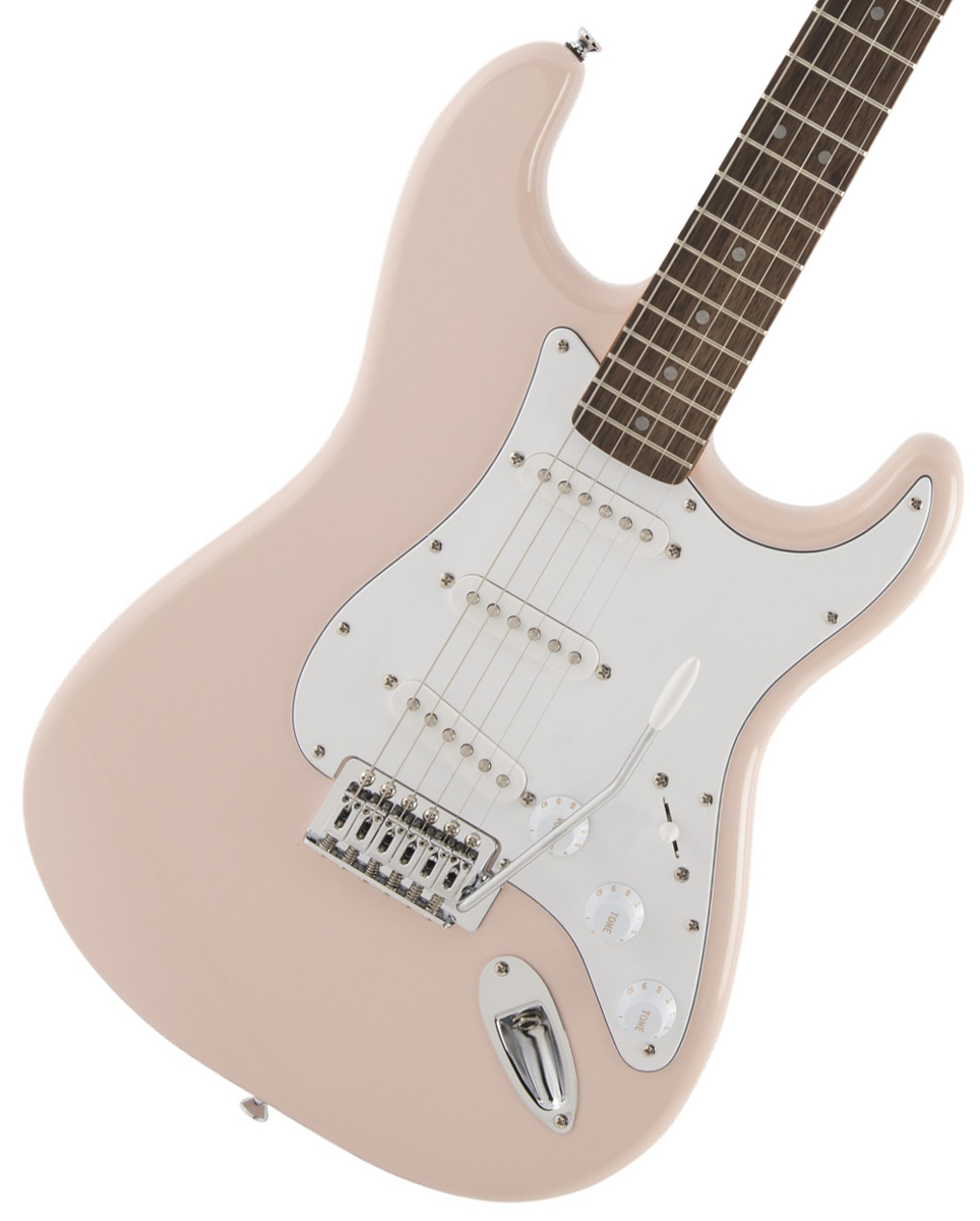 Squier by Fender / Affinity Stratocaster Laurel Fingerboard Shell Pink【限定カラー】【御茶ノ水本店】