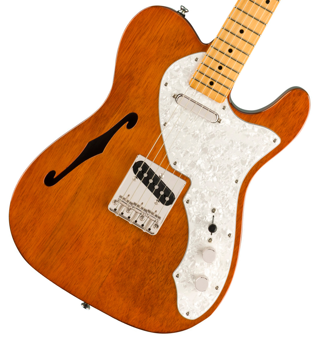 Squier by Fender / Classic Vibe 60s Telecaster Thinline Maple Fingerboard Natural スクワイヤー【御茶ノ水本店】