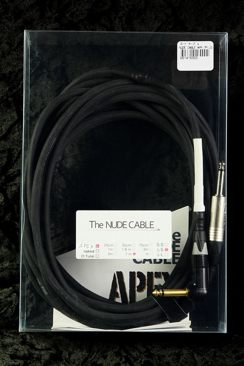 NUDE CABLE / NUDE CABLE APEX 7m L-S ケーブル【渋谷店】