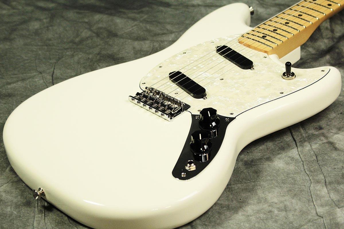 Fender / Mustang Maple Olympic White 【渋谷店】