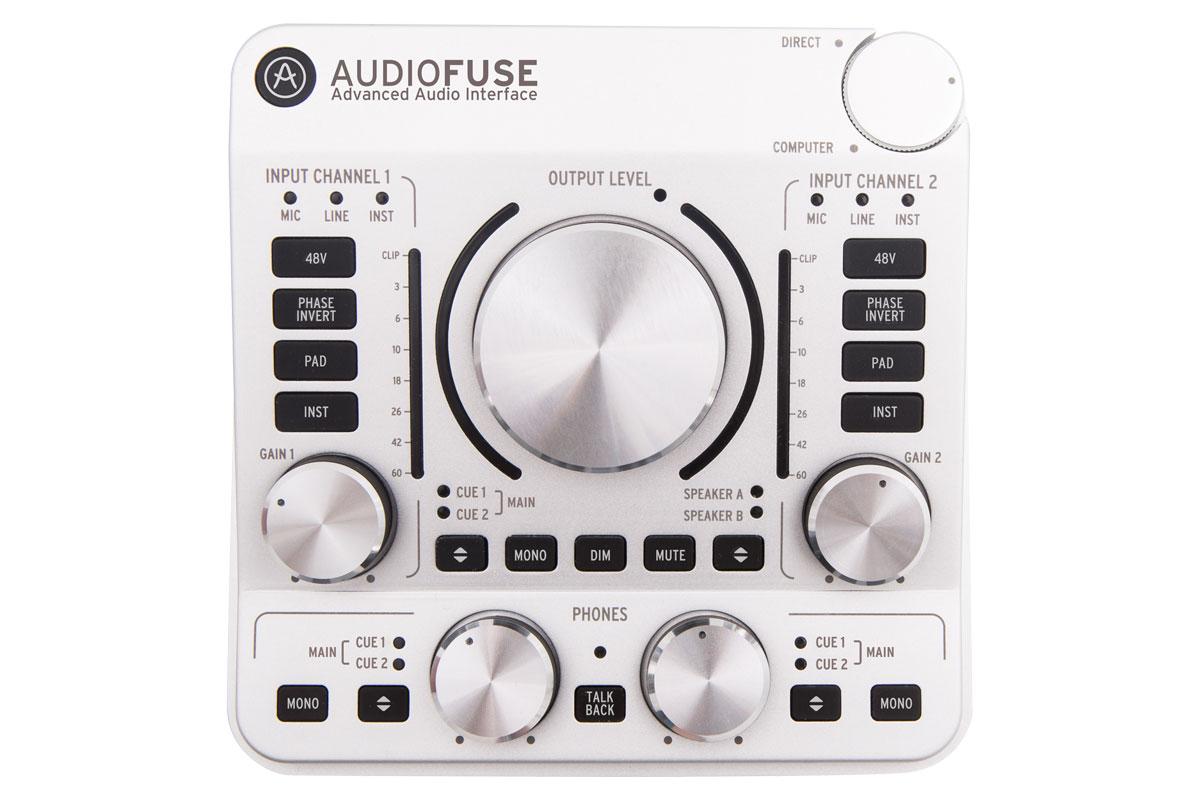 Arturia アートリア / ARTURIA Audio Fuse SV (AudioFuse) クラシック・シルバー オーディオインターフェイス【渋谷店】