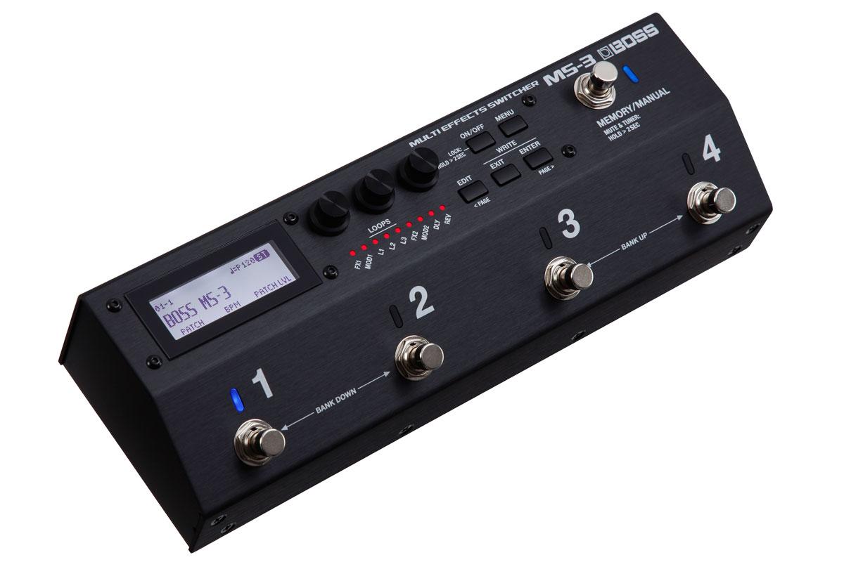 BOSS / MS-3 Multi Effects Switcher [マルチエフェクター搭載スイッチャー]【渋谷店】