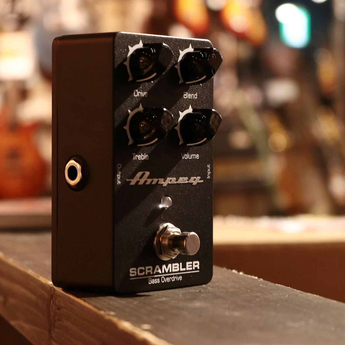 Ampeg / Scrambler Bass Overdrive [ベース用オーバードライブ]【渋谷店】