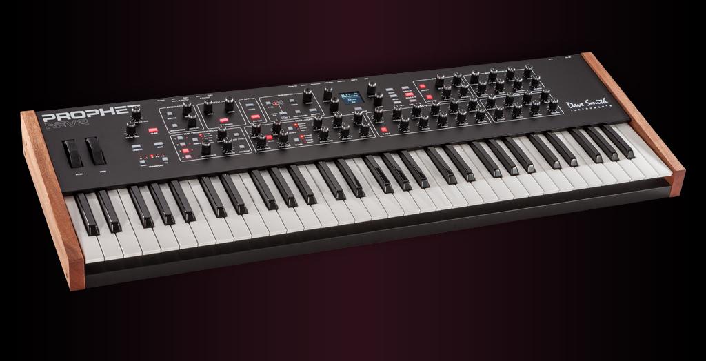 Dave Smith Instruments デイブスミス Prophet Rev2 16ボイス・モデル アナログ・ポリフォニック・シンセサイザ【お取り寄せ商品】【渋谷店】